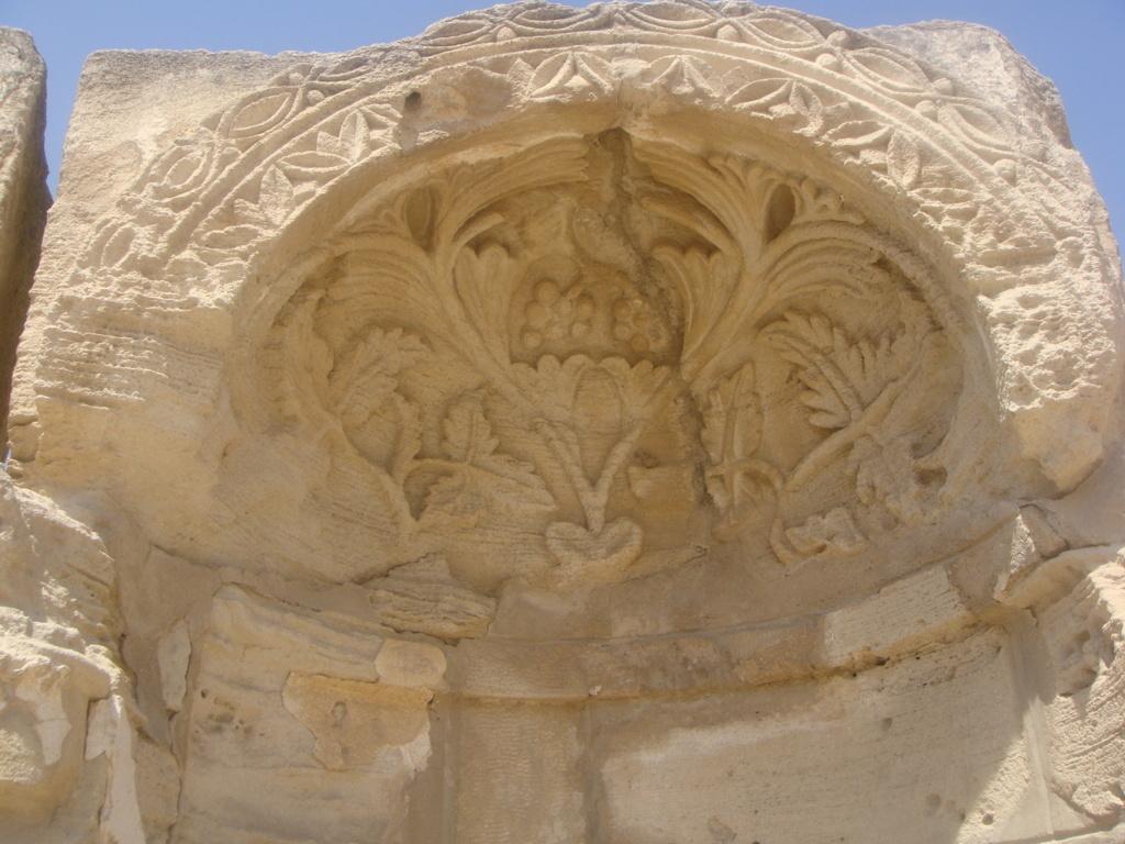 news 1 gerico Hishiam's Palace cupola 4